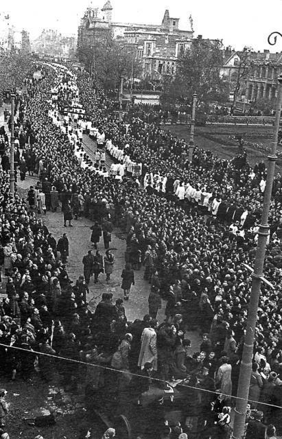 Pogrzeb prymasa Augusta Hlonda