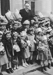 Bolesław Bierut z dziećmi