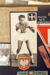 Tadeusz Pietrzykowski na wycinkach z gazet