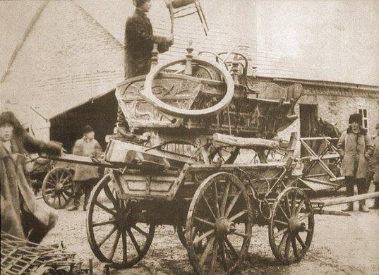 Mienie odebrane chłopom w czasie kolektywizacji w obwodzie donieckim w 1931 r.