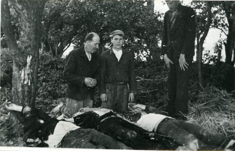 Lipnik i Wiśniowa, pow. myślenicki, ofiary pacyfikacji, 12-18 IX 1944 r. [ze zbiorów IPN].
