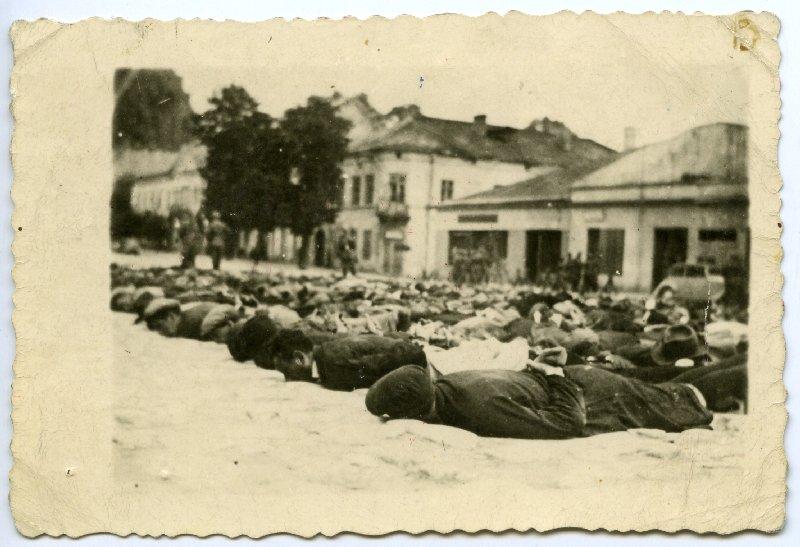 Przesłuchania Polaków zatrzymanych w Olkuszu, 30 VII 1940 r. [ze zbiorów IPN].