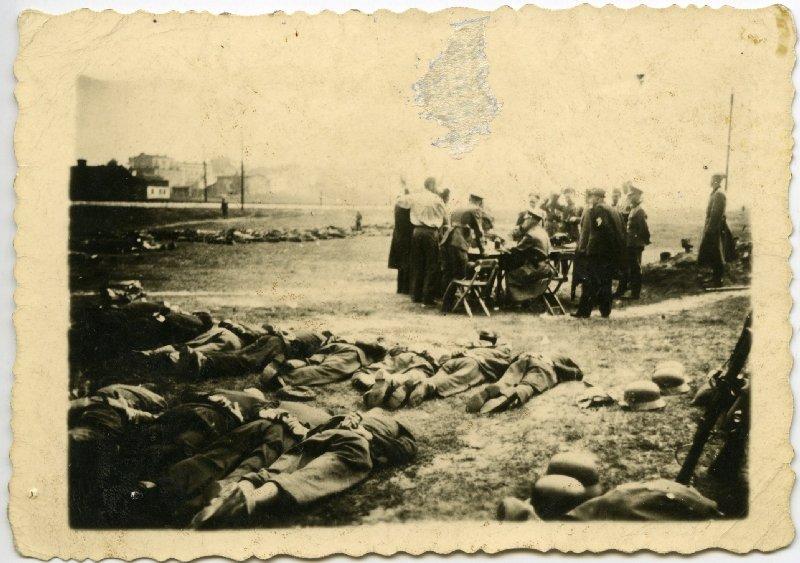28. Przesłuchania Polaków zatrzymanych w Olkuszu, 30 VII 1940 r. [ze zbiorów IPN].