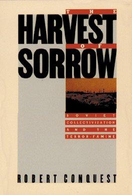Okładka książki R. Conquesta, Harvest sorrow
