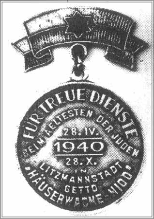 Odznaczenie za współpracę z niemieckim okupantem