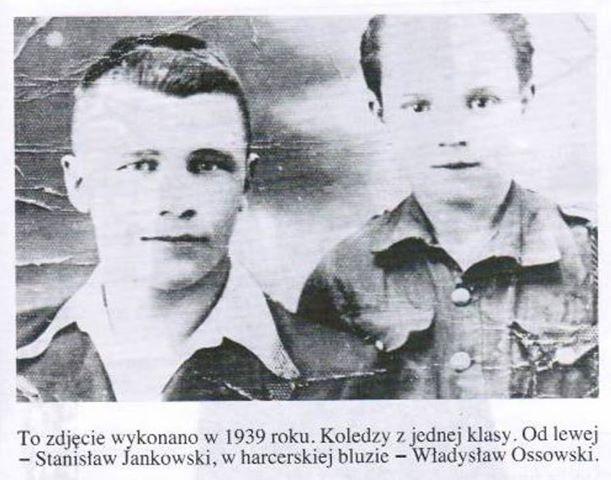 Władysław Ossowski (po prawej)