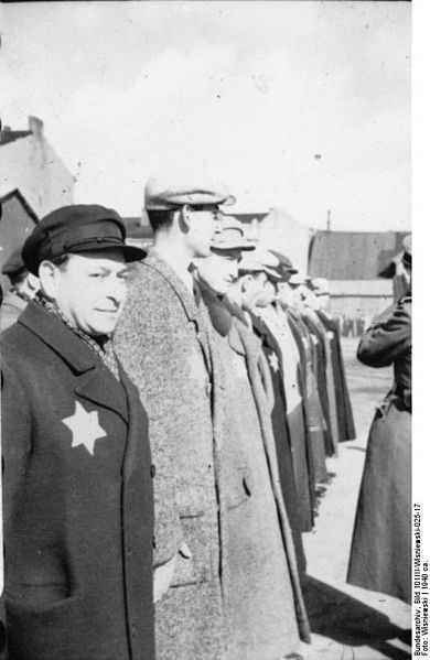 Policjanci żydowscy w getcie łódzkim