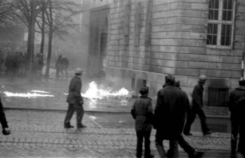 Przy KW PZPR w Gdańsku, 15 grudnia 1970 r