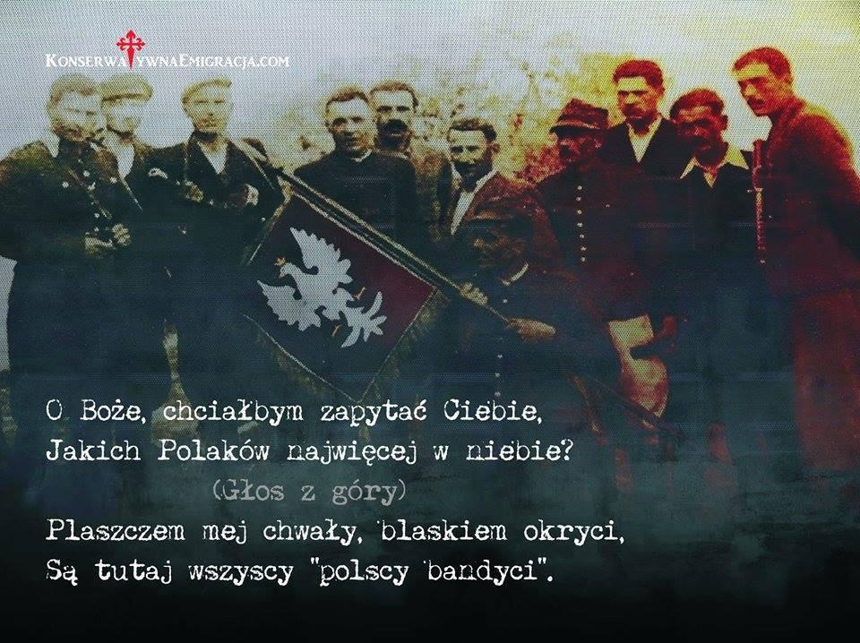 Piękny Wiersz O Polskich Bandytach Którzy Nie Chcieli
