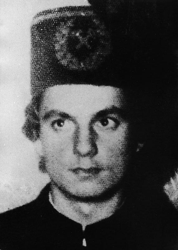 Zenon Zając - lat 22