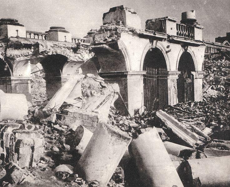 Grób Nieznanego Źołnierza 1945