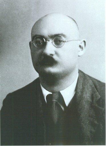 Józef Mützenmacher w 1932 r.