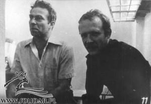 Karol Modzelewski i Adam Michnik
