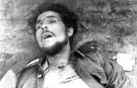 Mieczysław Dziemieszkiewicz ''Rój'' - zdjęcie pośmiertne