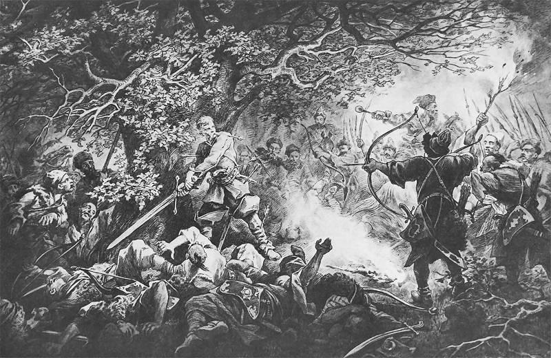 Śmierć Longinusa Podbipięty