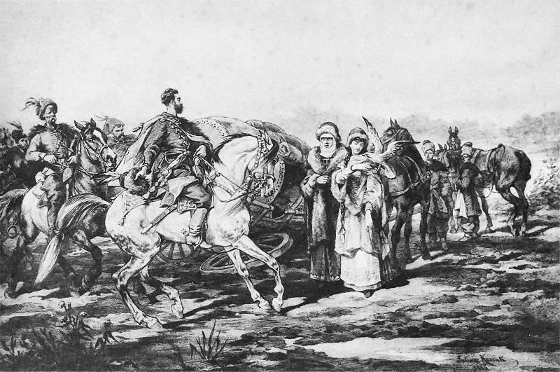 Przygoda w drodze do Łubniów 1885