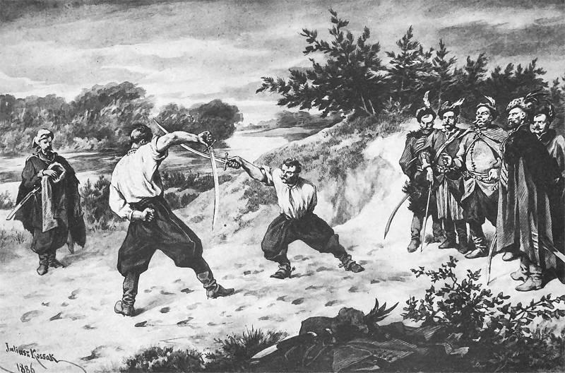Pojedynek Wołodyjowskiego z Bohunem