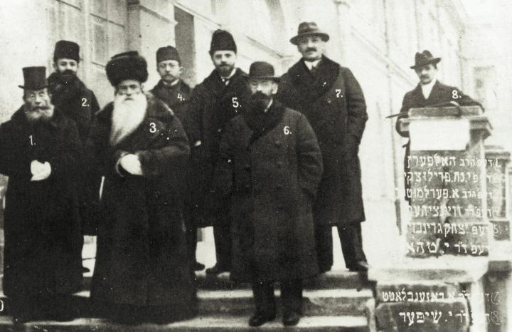 Posłowie żydowscy do Sejmu Ustawodawczego w 1919 r.