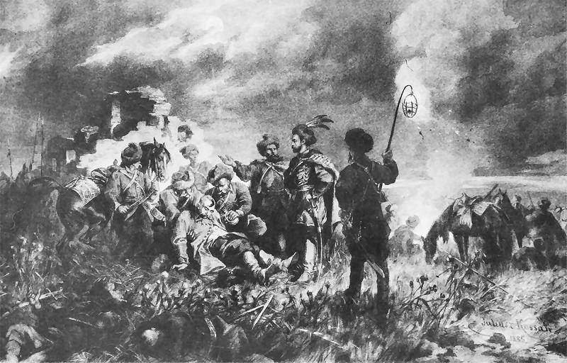 Spotkanie Skrzetuskiego z Chmielnickim na Dzikich Polach