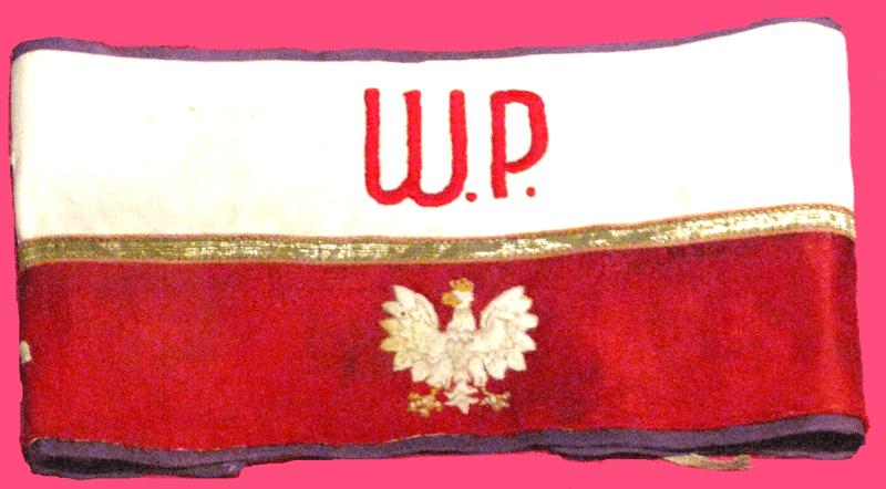 Opaska noszona przez żołnierzy Armii Krajowej