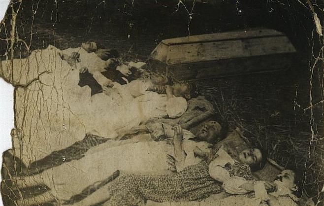Rodzina Rudnickich zamordowana przez UPA w ramach czystek etnicznych prowadzonych przez Ukraińców na Wołyniu