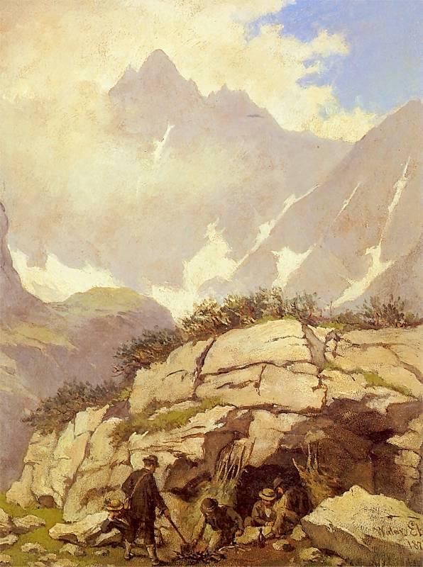 Koleba księdza Stolarczyka w Tatrach
