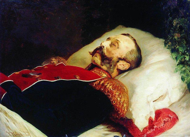 800px-Konstantin_Makovsky_Alexander_II_na_smertnom_odre_1881