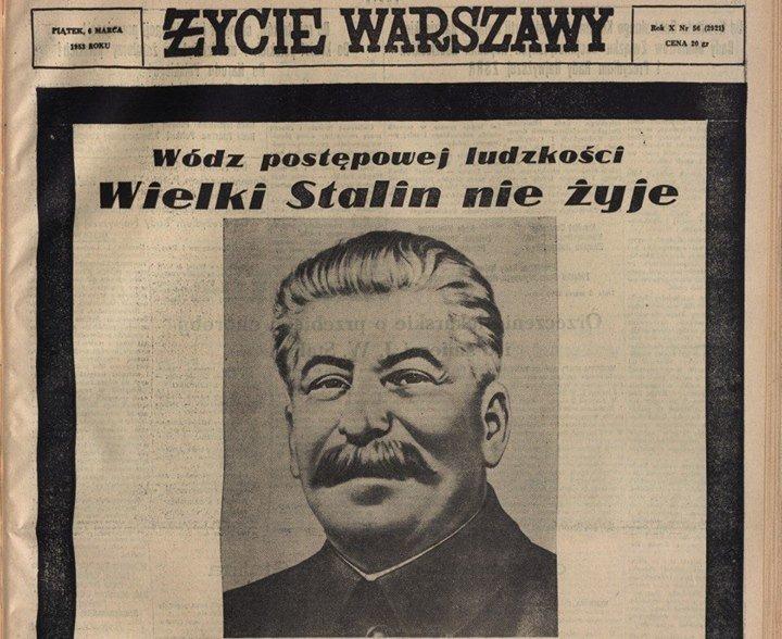 Tak Polska Płakała Po Stalinie Wzruszające Wiersze Zmiana