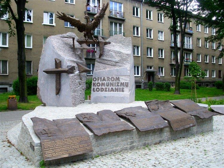 Łódź - Pomnik Ofiar Komunizmu