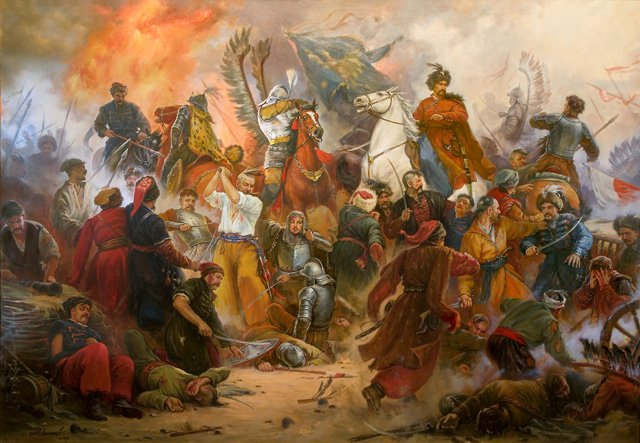 Artur Orlionow, Bitwa pod Beresteczkiem