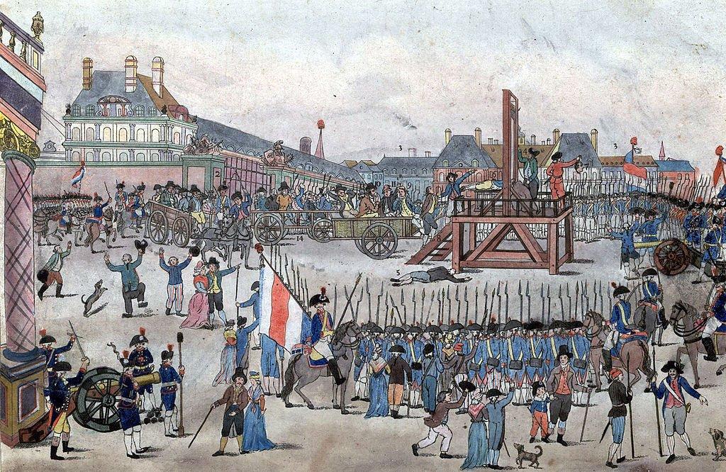 Egzekucja przywódców jakobińskich – 28 lipca 1794 roku