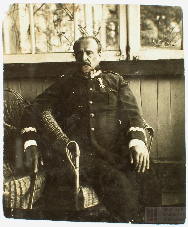 Gen. Józef Haller w galowym mundurze