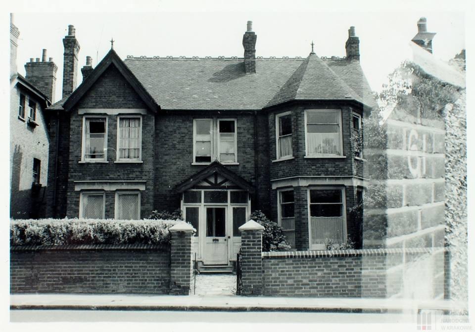 Dom gen. Józefa Hallera w Londynie przy Hanger Lane 61.