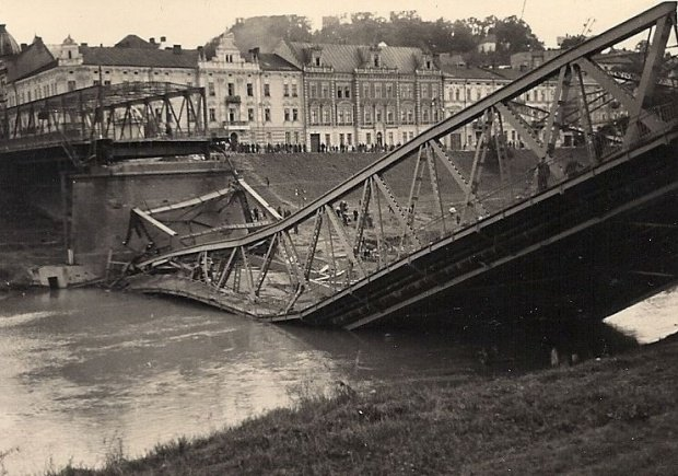 most w Przemyślu w 1939