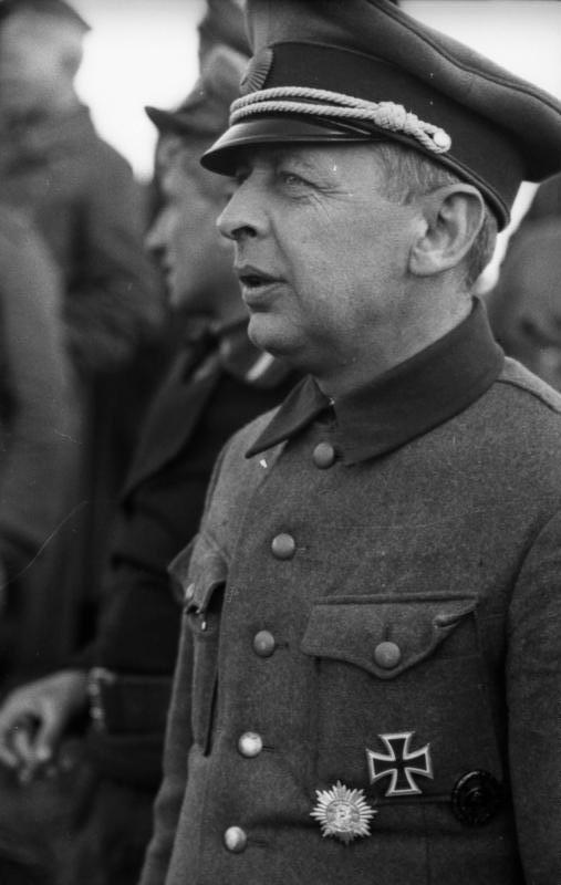 Bronisław Kaminski w marcu 1944