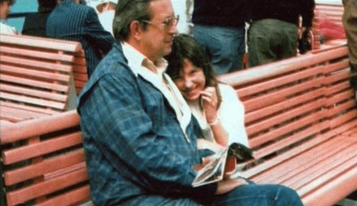 Mecenas Andrzej Kern i jego córka Monika.