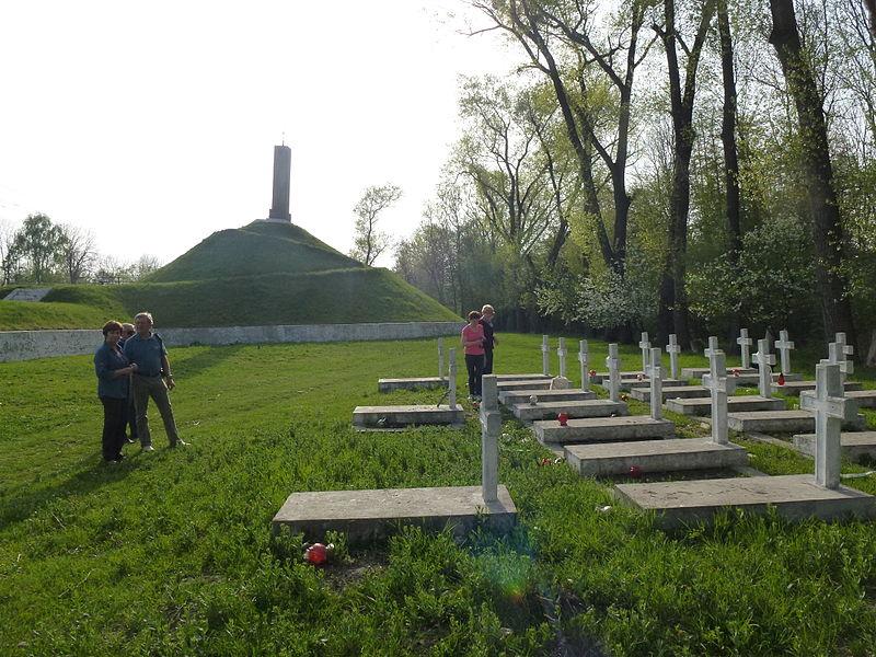 Cmentarz poległych i pomnik bohaterów