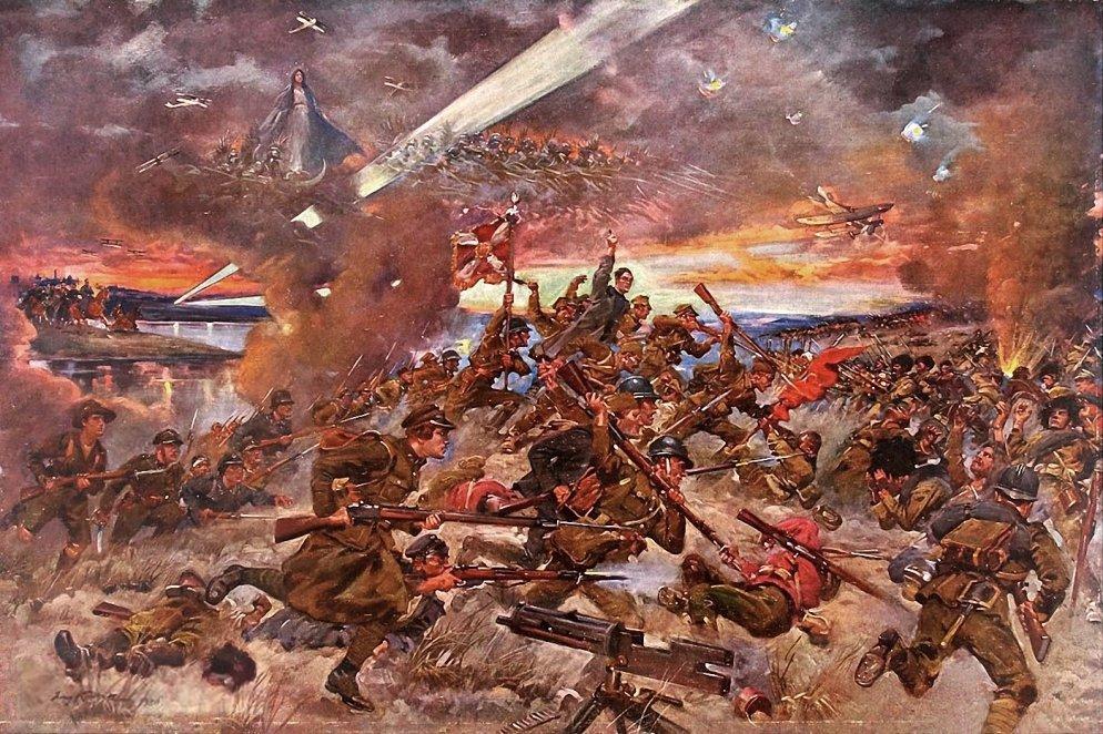 Cud nad Wisłą 15 sierpnia 1920 roku, Jerzy Kossak