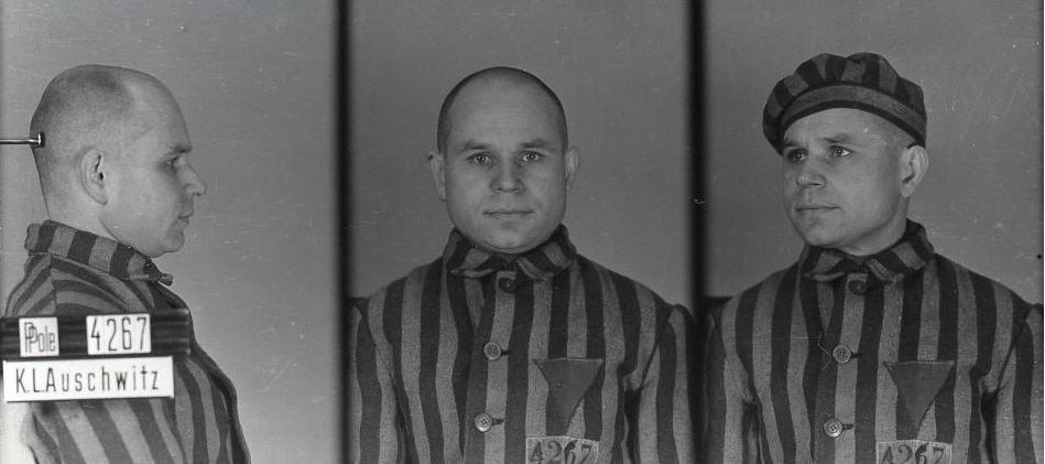 Antoni Kocjan, zdjęcie wykonane przezobozowe gestapo