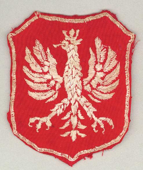 Naszywka z orłem noszona na rękawach mundurów przez żołnierzy Brygady Świętokrzyskiej