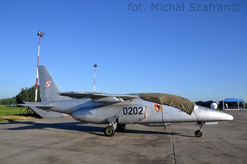 I-22 Iryda będąca eksponatem lotniczej kolekcji na terenie 22. Bazy Lotnictwa Taktycznego, fot. Michał Szafran, odwaszegofotokorespondenta.blogspot.com