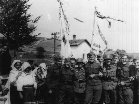 Słowacko-niemieckie braterstwo broni – Komańcza 1939