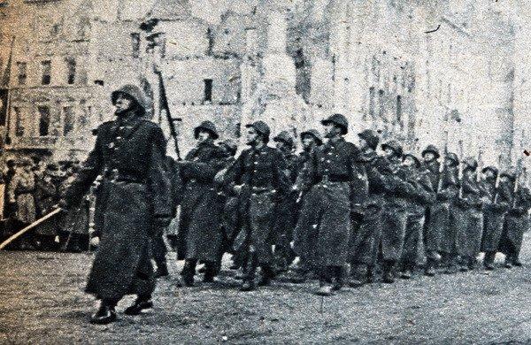 """""""Wyzwolenie"""" Warszawy. 19.01.1945"""