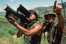Stinger w użyciu żołnierzy amerykańskich