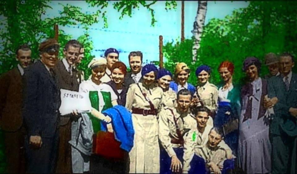 ONR, w środku Jan Mosdorf, facebook.com/PolskiNarodowy