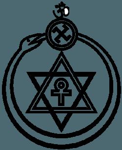 Symbol Towarzystwa Teozoficznego założonego przez H. Bławatską.