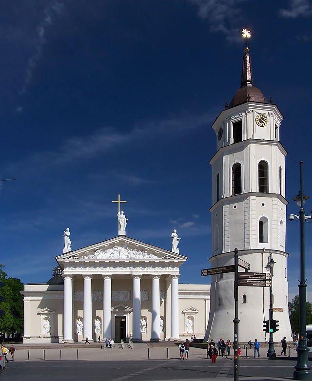 Katedra w Wilnie, fot. wikipedia.pl