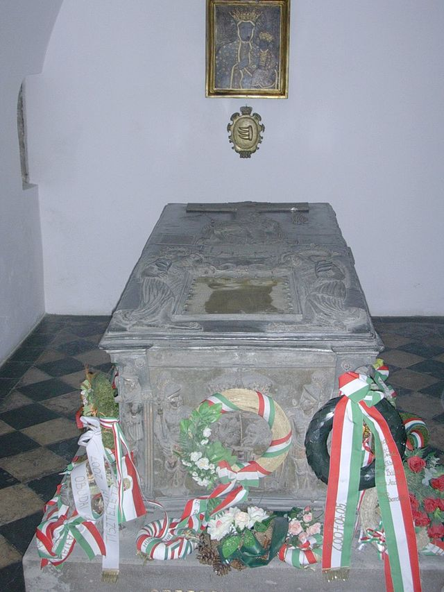 Sarkofag Stefana Batorego na Wawelu, wikipedia.pl
