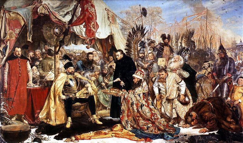 Jan Matejko, Stefan Batory pod Pskowem