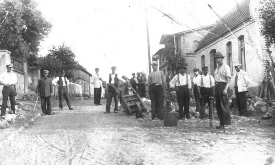 Borowy Młyn - jeszcze przedwojną, prawdopodobnie 1934/5 rok